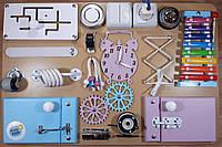Бизиборд BusyBliss  Разноцветный 40*60 см