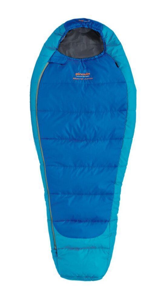 Спальный мешок Pinguin - Mistral Junior 150 Blue Справа (R)