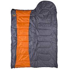 Спальник GreenCamp, одеяло, 450гр/м2, фото 3