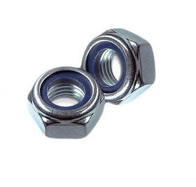 Гайка самостоп с полиамидным кольцом DIN985 М8 (упаковка 1000 шт.)
