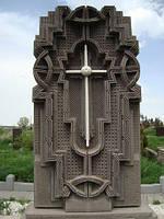 Крест из камня 15
