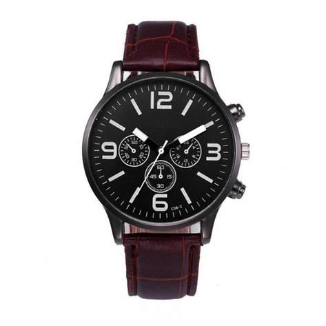 """Мужские наручные часы """"Migeer"""" (коричневый ремешок), фото 2"""