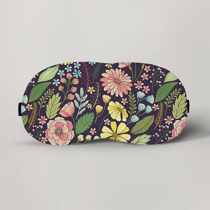 Маска для сна Цветы №60