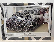 Комплект постельного белья Koloco Bayun арт 722 серый.