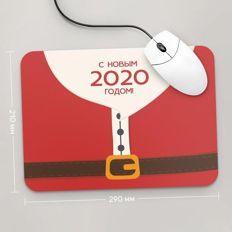 Коврик для мыши 290x210 С Новым Годом 2020 , №63