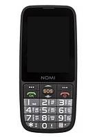 Мобільний телефон Nomi i281+ Black (Чорний)