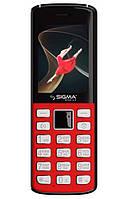 Мобільний телефон Sigma X-Style 24 Onyx Червоний