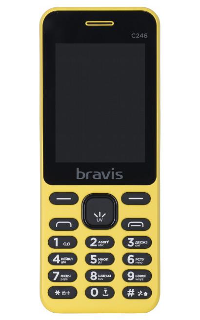 Мобільний телефон BRAVIS C246 Fruit Dual Sim Жовтий