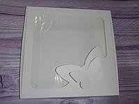 Коробка для пряников с окошком, бабочка 20* 20 см