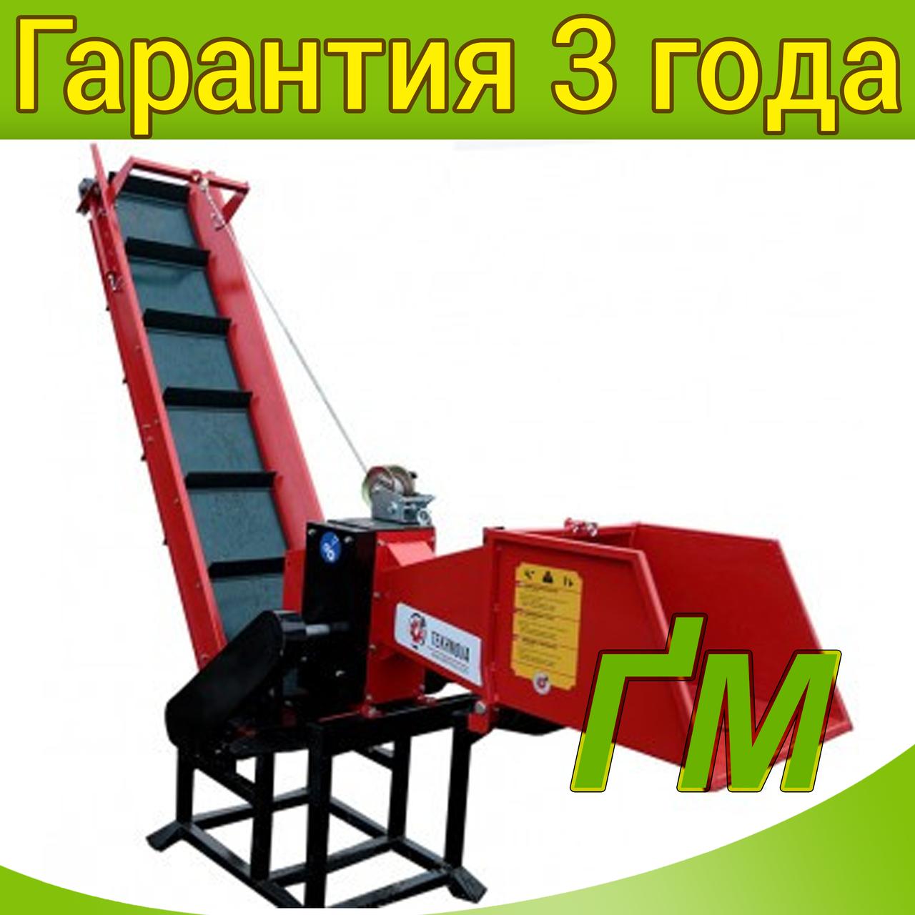 Измельчитель веток TN-100TК с конвейерной лентой 2м