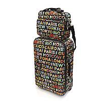 Чемодан средний 65л с сумкой-бьютик David Jones 4008