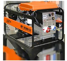 Трифазний зварювальний бензиновий генератор RID RV 10300 SE (8 кВт)