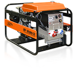Трехфазный сварочный бензиновый генератор RID RV 10300 SE (8 кВт)