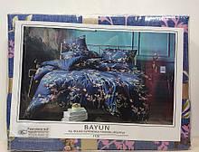 Комплект постельного белья Koloco Bayun  арт 1105 синий
