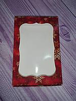 Коробка для пряников с окошком, новогодняя 10* 15 см