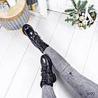 Женские зимние ботинки черного цвета, эко кожа 36 ПОСЛЕДНИЙ РАЗМЕР, фото 4