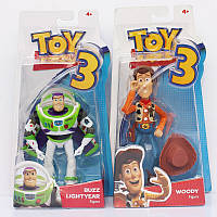 Фигурки История Игрушек Той Стори Toy Story набор из двух фигурок Вуди и Базз Лайтер