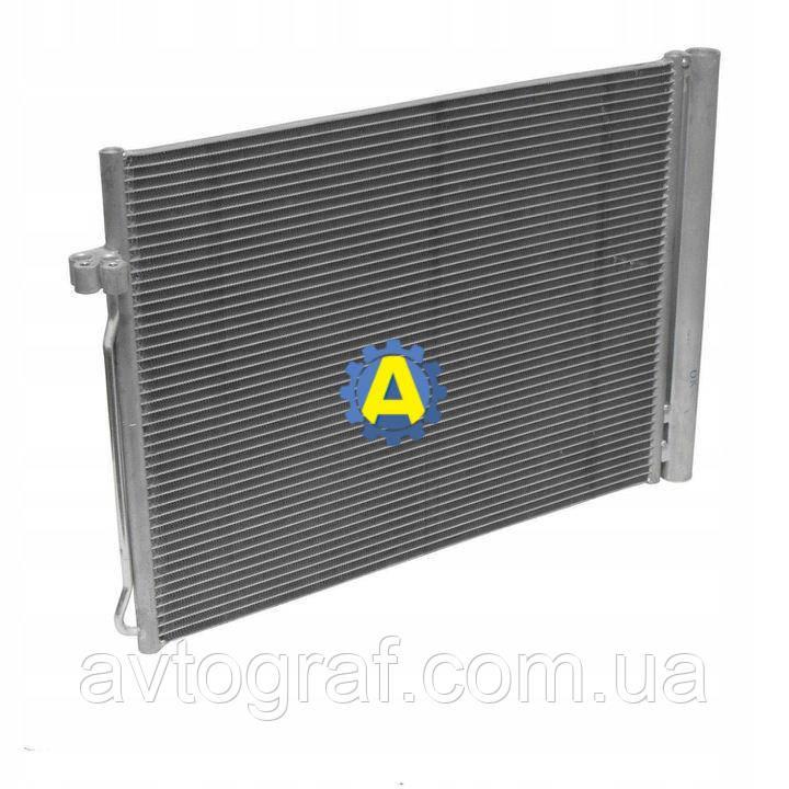 Радиатор кондиционера на BMW X5 (Бмв Х5) E70 2010-2013