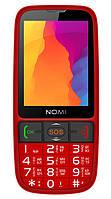 Мобільний телефон Nomi i281+ Red (Червоний)