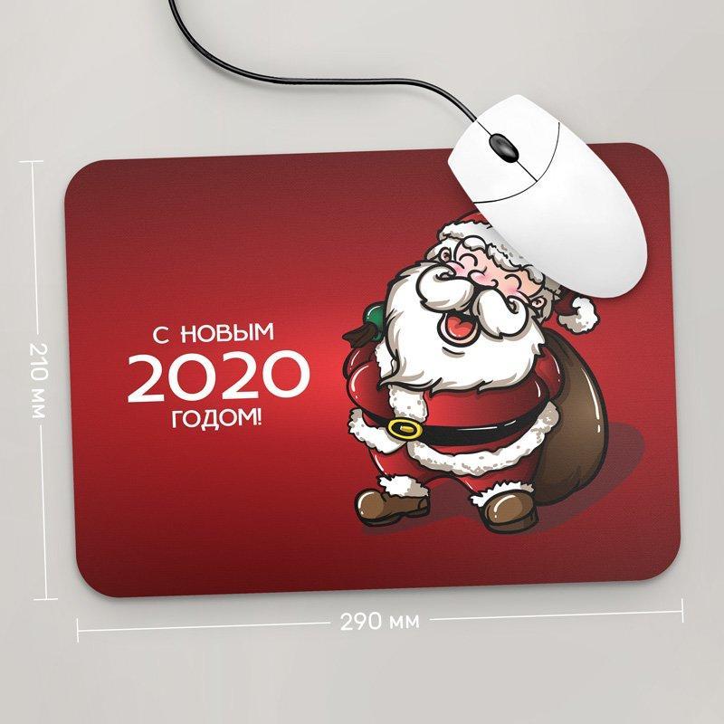 Коврик для мыши 290x210 С Новым Годом 2020 , №57