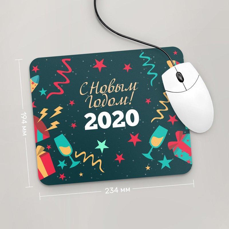 Коврик для мыши 234x194 С Новым Годом 2020, №30