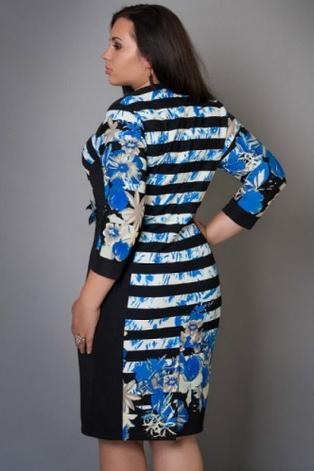 Женское платье с цветами, фото 2