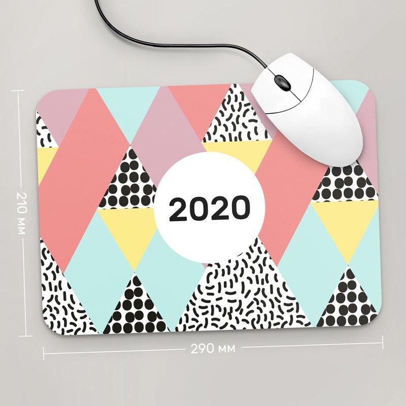 Коврик для мыши 290x210 С Новым Годом 2020, №29