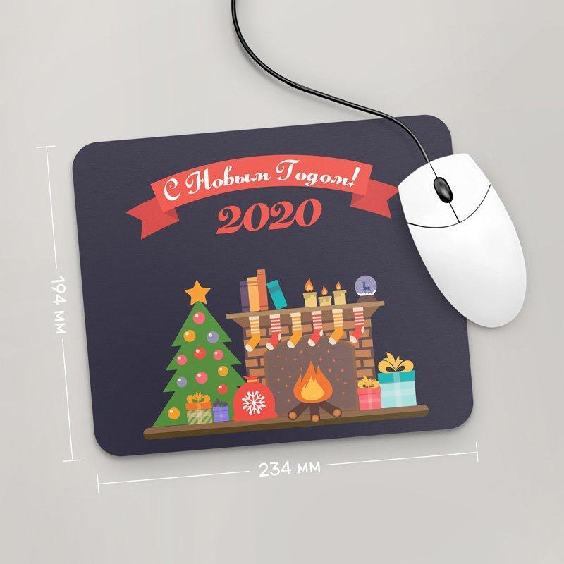 Коврик для мыши 234x194 С Новым Годом 2020, №12