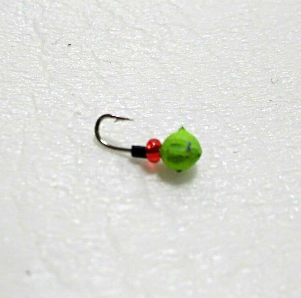Мормишка лита Дробинка зелена