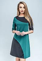Платье  двухцветное, фото 1