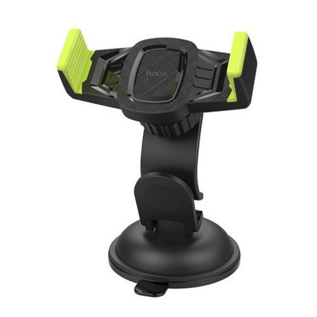 Холдер Hoco CA40 Refined suction cup base in-car dashboard phone holder Black & Yellow