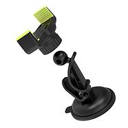 Холдер Hoco CA40 Refined suction cup base in-car dashboard phone holder Black & Yellow, фото 3