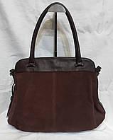 Стильная сумка из натурального замша., фото 1
