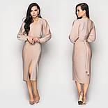 Женское платье люрекс с разрезом впереди (в расцветках), фото 2