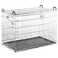 Savic ДОГ РЕЗИДЕНС (Dog Residence) клетка для собак, цинк , 107х71х81 см, 20 кг.