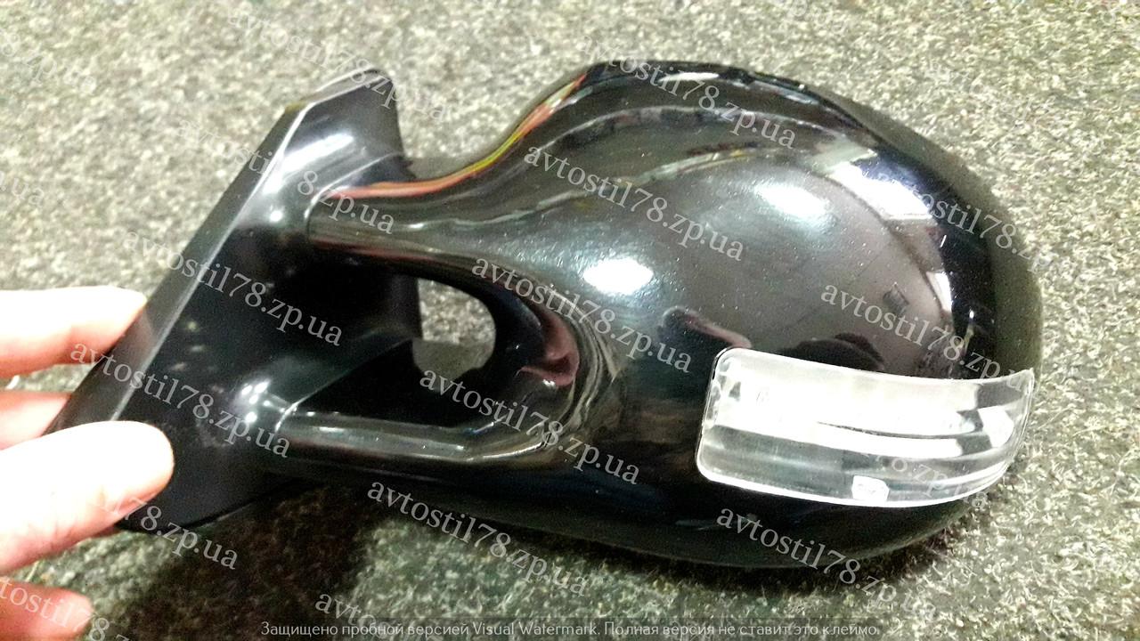 Зеркала наружные 3252 C Black глянец, с подсветкой и указателем поворотов