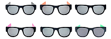 Гибкие солнцезащитные очки Clix Out Sunglasses UV 400, складные очки солнцезащитные, фото 3