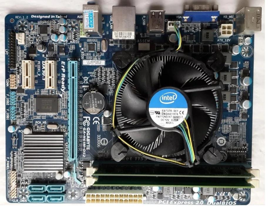 Комплект Intel Core  i5-3470   3,60 GHz  4 ядра /  8 Gb DDR3 / MB Гарантия 3 мес.