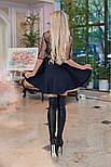 Женское платье кружево с юбкой-солнце (в расцветках), фото 2