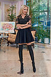 Женское платье кружево с юбкой-солнце (в расцветках), фото 3