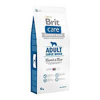 Корм Brit Care Adult Large Breed Lamb & Rice Брит Кеа ягня рис для дорослих собак великих порід12 кг