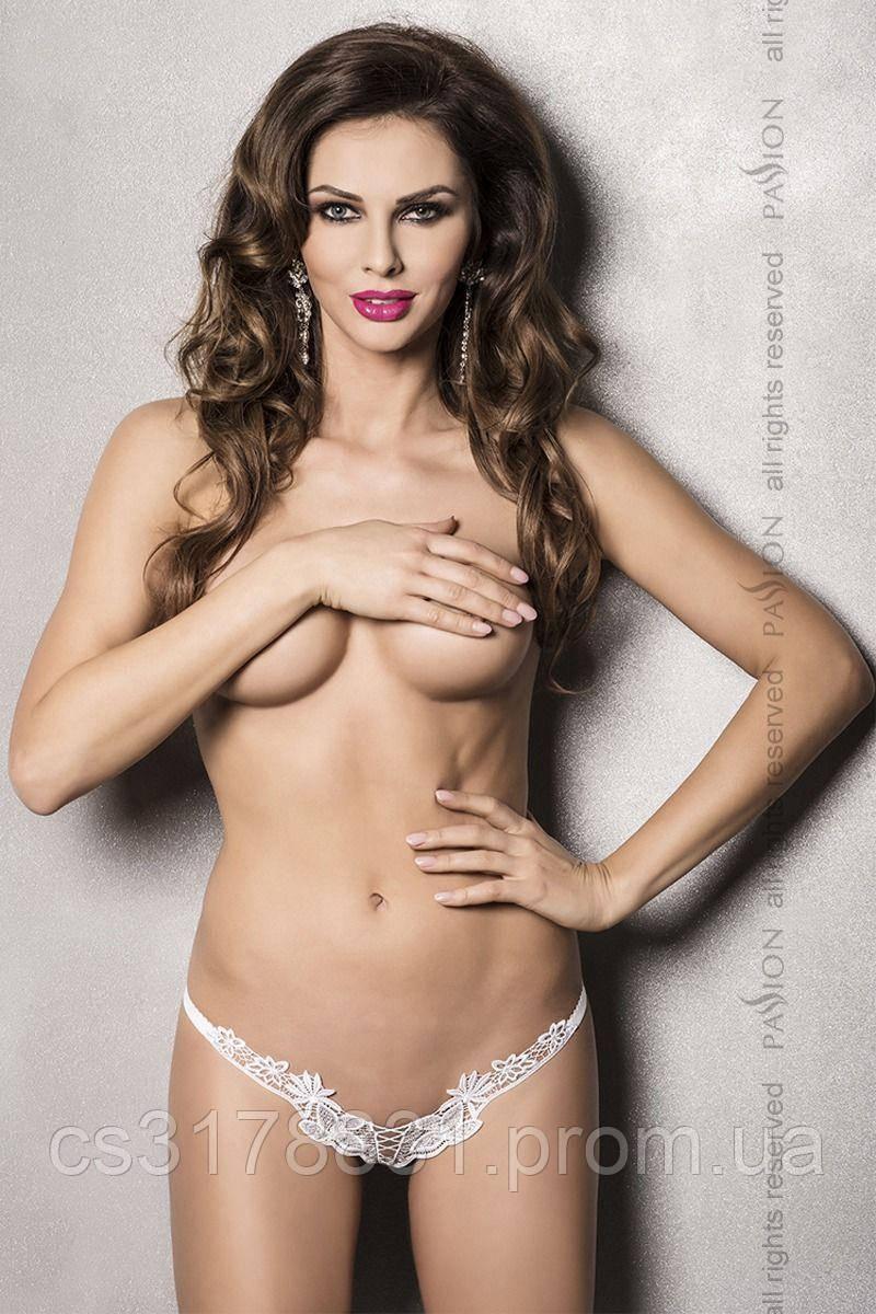 ATHENA THONG white XXL/XXXL - Passion Exclusive