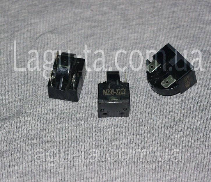 Реле пусковое для холодильника Samsung, LG. 22 Ом.3 pin DA35-00099A