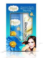 Plant Yingli 400 мл шампунь для волос на основе экстракта цветка гималайского мака + кондиционер 150гр.