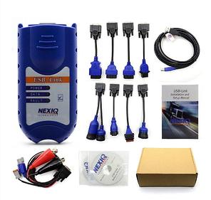 Автомобільний сканер автосканер діагностики вантажних авто Nexiq 125032 USB Link + Bluetooth, фото 2
