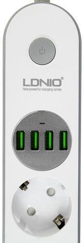 Сетевой фильтр-удлинитель2 м LDNIO SE4432