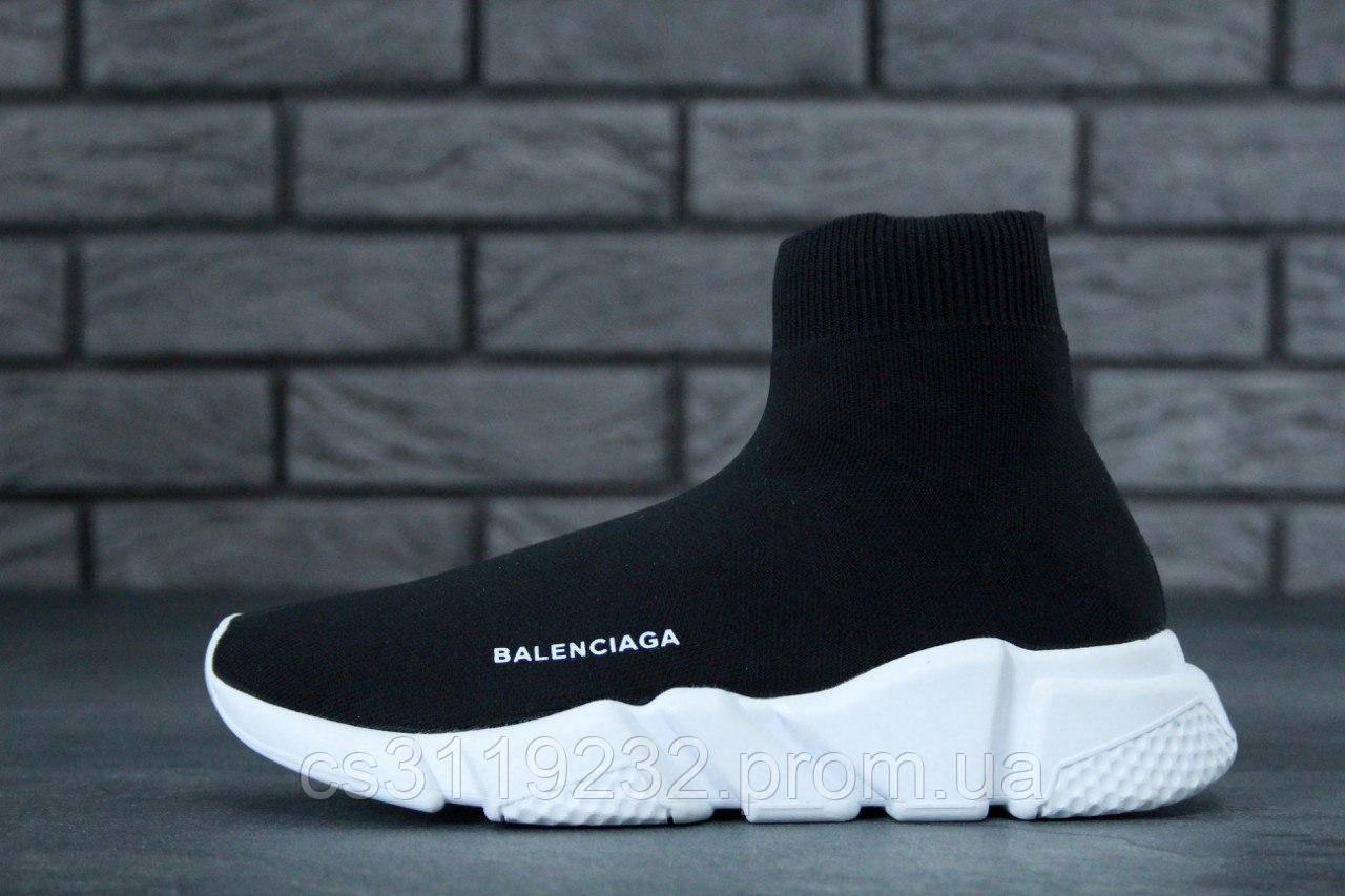 Мужские кроссовки Balenciaga Speed (черные)