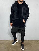 Мужские худи теплые плюшевые А-ada1075, фото 1