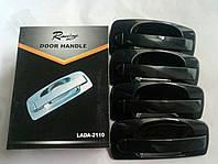 Качественные евро ручки Ваз 2110, 2111, 2112, 2170, 2172 металлик