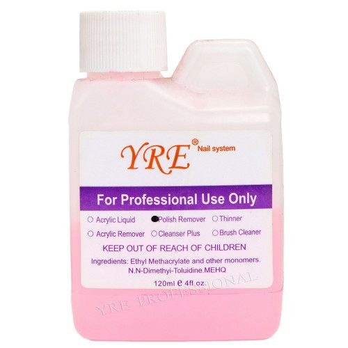 Жидкости для ногтевого сервиса торговой марки Y.R.E